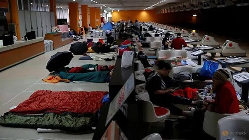 Trung tâm sơ tán Nhật Bản bị chỉ trích vì từ chối 2 người vô gia cư giữa siêu bão Hagibis - Ảnh 1