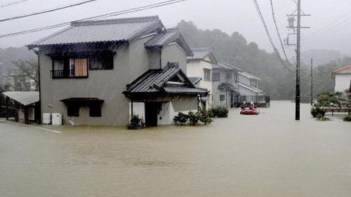 Nhật Bản: Thiệt hại về người trong siêu bão Habigis ngày càng tăng - Ảnh 1