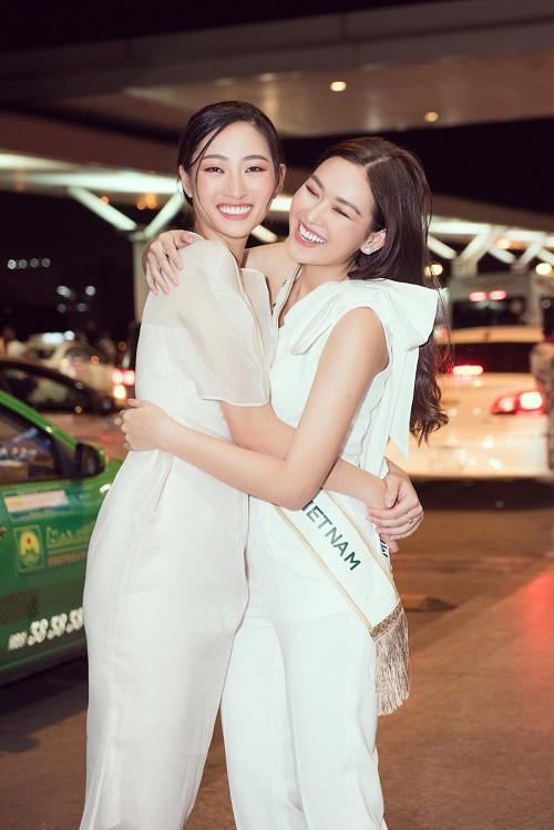 Á hậu Tường San rạng rỡ lên đường sang Nhật Bản tham dự Miss International 2019 - Ảnh 3