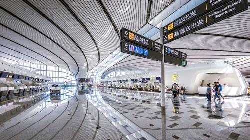 Bắc Kinh: Siêu sân bay trị giá 63 tỷ đô bắt đầu vận hành các chuyến bay quốc tế - Ảnh 2