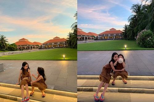 Ngắm 2 công chúa siêu dễ thương nhà Hồ Hoài Anh - Lưu Hương Giang - Ảnh 5