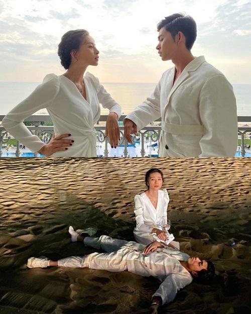 Hậu tiệc cưới của Đông Nhi - Ông Cao Thắng: Jun Phạm say quên lối về, ngủ gục trên bãi biển - Ảnh 3