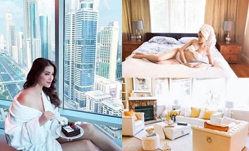 Phạm Hương đăng ảnh bán nude khoe trọn đường cong nóng bỏng - Ảnh 5