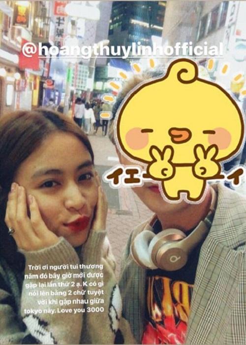 Gil Lê và Hoàng Thùy Linh tiếp tục lộ ảnh cùng du lịch tại Nhật Bản? - Ảnh 2