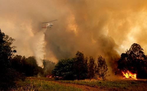 Khói mù bao trùm Sydney do ảnh hưởng từ cháy rừng - Ảnh 2