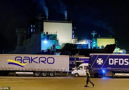 Hà Lan: Phát hiện 25 người di cư trong container đông lạnh trên chuyến phà đến Anh - Ảnh 1