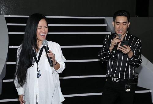 Hồng Nhung, Thanh Lam hết lòng tập luyện cho liveshow của Quang Hà - Ảnh 4