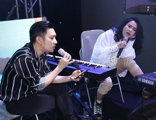 Hồng Nhung, Thanh Lam hết lòng tập luyện cho liveshow của Quang Hà - Ảnh 2