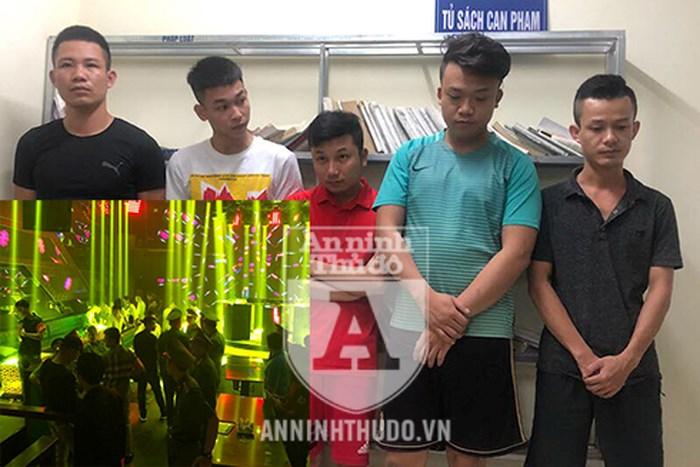 Đột kích hai quán bar ở Hà Nội, phát hiện nhiều đối tượng sử dụng ma túy - Ảnh 1