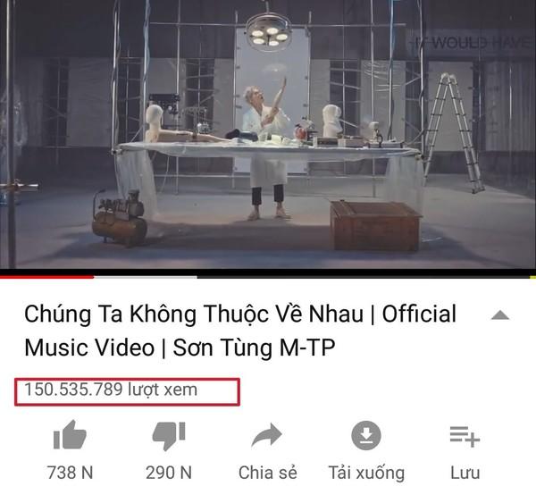 Kênh Youtube chính thức của Sơn Tùng MTP đã vượt ngưỡng 1 tỷ lượt xem - Ảnh 3