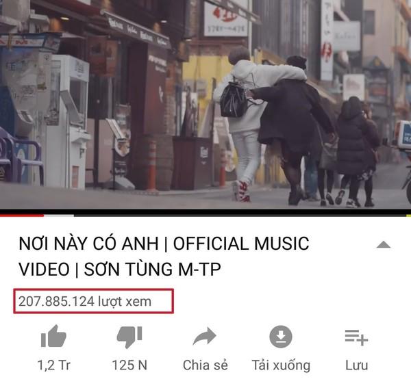 Kênh Youtube chính thức của Sơn Tùng MTP đã vượt ngưỡng 1 tỷ lượt xem - Ảnh 2