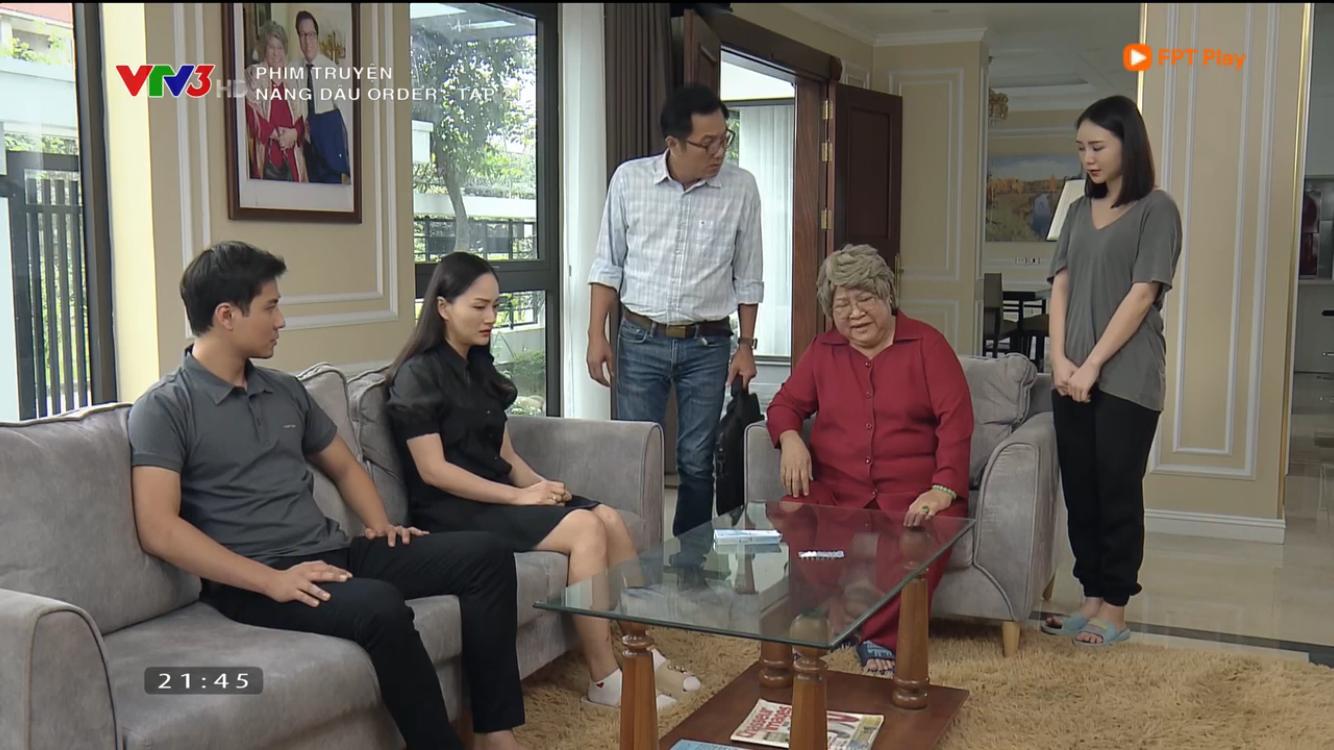 Nàng dâu order tập 21: Yến bị bà nội Phong đuổi ra khỏi nhà - Ảnh 1