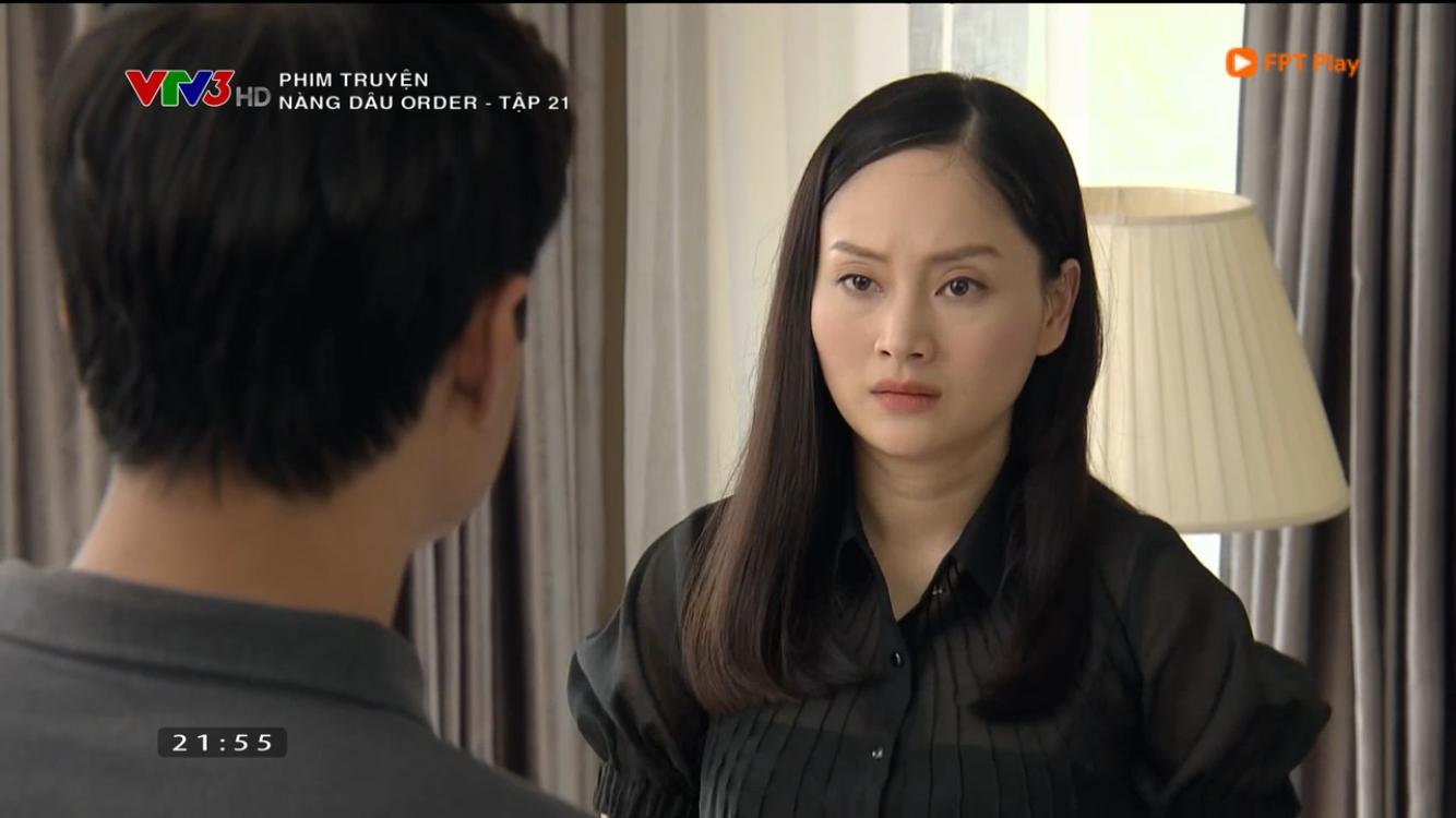 Nàng dâu order tập 21: Yến bị bà nội Phong đuổi ra khỏi nhà - Ảnh 3