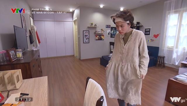 Phim Về nhà đi con tập 47: Dương bất ngờ thay đổi ngoại hình  - Ảnh 3