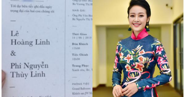 MC Phí Linh gây bất ngờ khi kết hôn trong tháng 6 - Ảnh 1