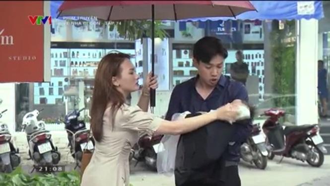 Phim Về nhà đi con tập 74: Dương tỏ tình với cô Hạnh hộ bố Sơn - Ảnh 1