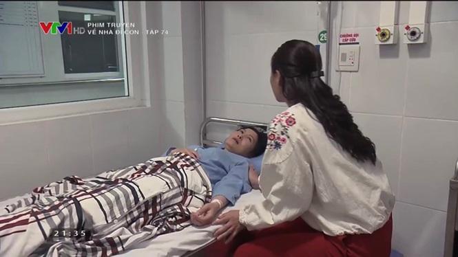 Phim Về nhà đi con tập 74: Dương tỏ tình với cô Hạnh hộ bố Sơn - Ảnh 4