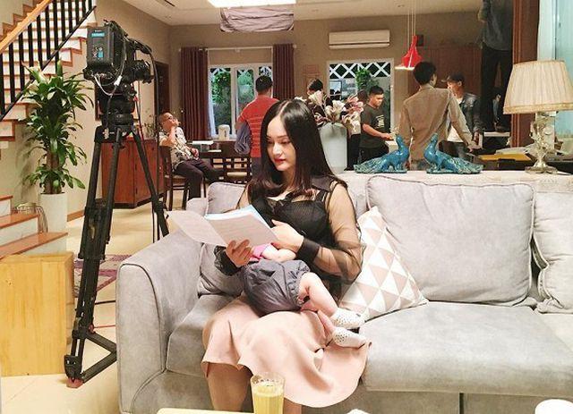 """Nữ diễn viên Lan Phương bật mí hậu trường phim """"Nàng dâu order""""  - Ảnh 2"""