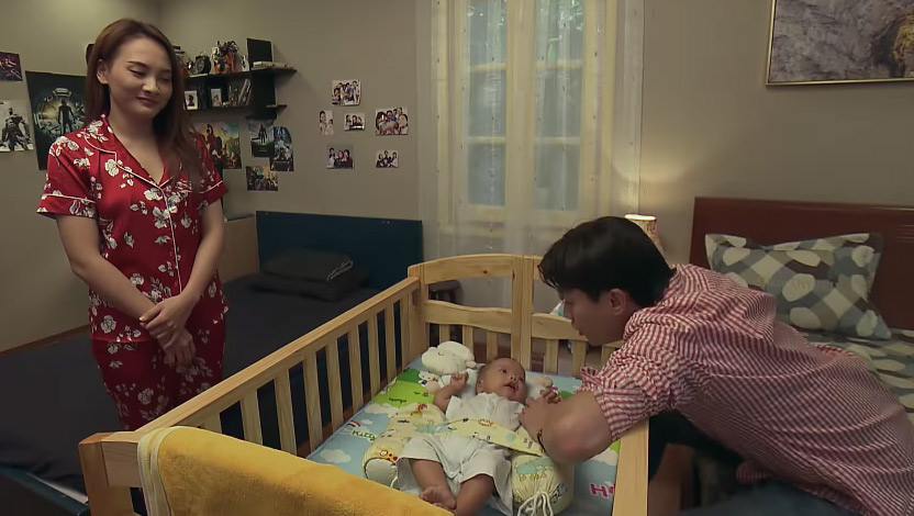 Phim Về nhà đi con tập 84: Quốc bất ngờ tỏ tình với Huệ - Ảnh 1
