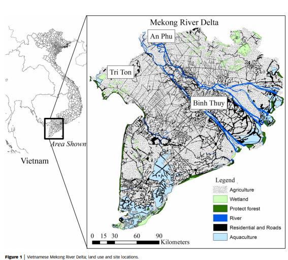 Bài báo về đồng bằng sông Cửu Long lên tạp chí quốc tế - Ảnh 2