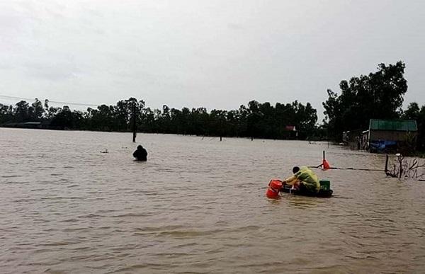 Đi bắt cá sau bão, bé trai lớp 4 đuối nước thương tâm - Ảnh 2