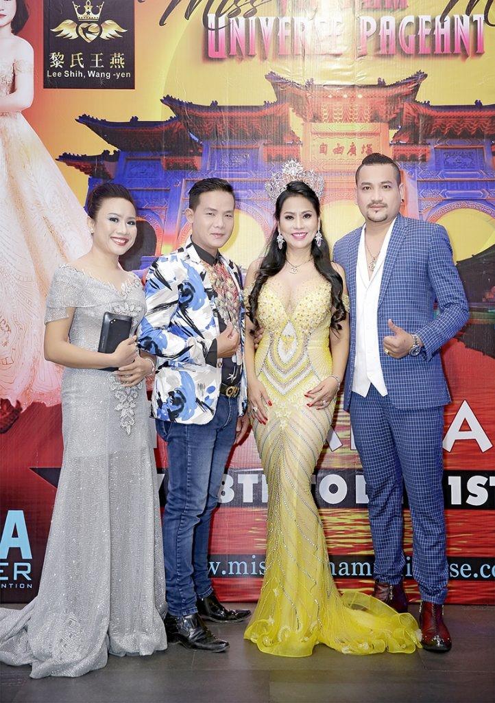 Giám đốc truyền thông Lê Phạm rạng ngời trên thảm đỏ Dạ tiệc ra mắt doanh nhân - Ảnh 9