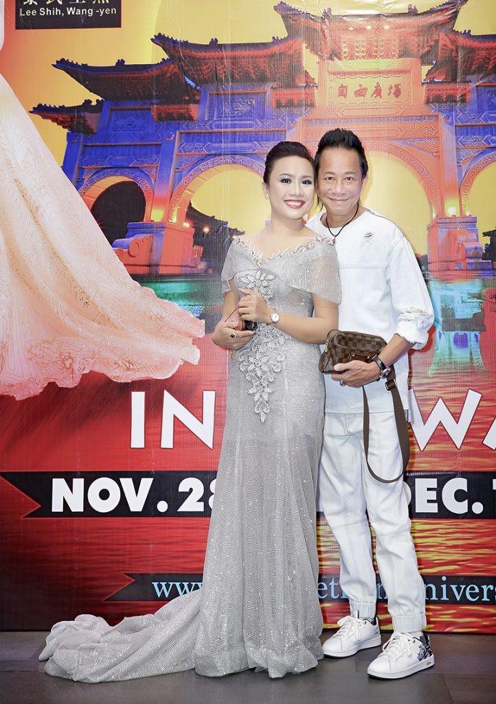 Giám đốc truyền thông Lê Phạm rạng ngời trên thảm đỏ Dạ tiệc ra mắt doanh nhân - Ảnh 5