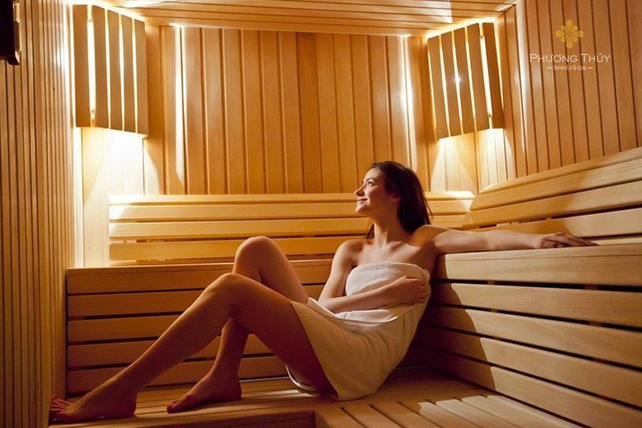Vừa thư giãn vừa giảm cân với xông hơi đá muối Hàn Quốc - Ảnh 2