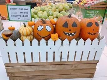 Phát cuồng với bí ngô Halloween khổng lồ lần đầu được trồng ngay tại Việt Nam - Ảnh 1
