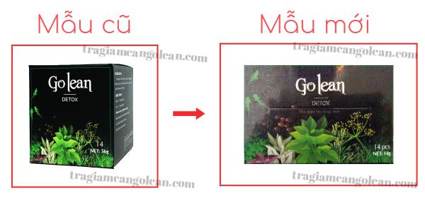 Bị làm giả sản phẩm, trà thảo mộc Golean Detox thay đổi bao bì từ hộp vuông sang hộp chữ nhật  - Ảnh 1