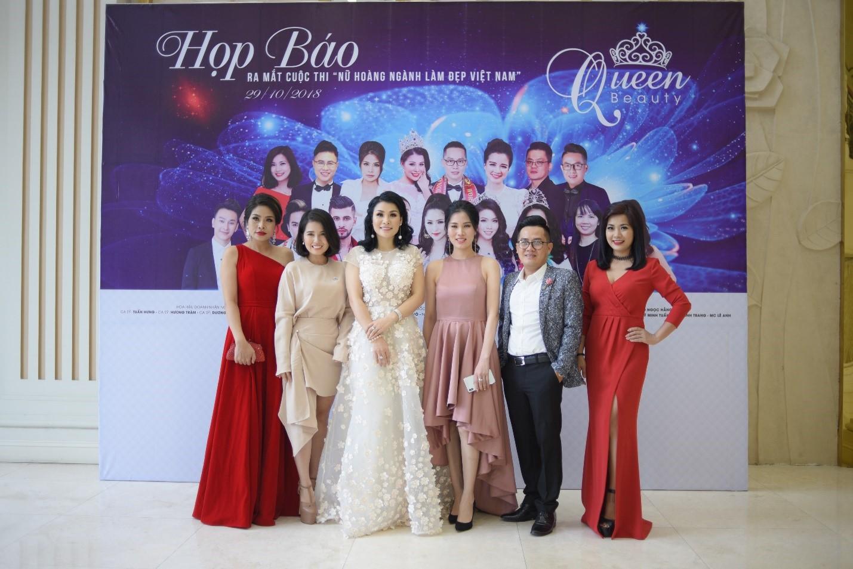 Họp báo công bố cuộc thi Queen Beauty - Ảnh 9