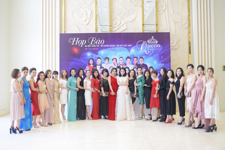 Họp báo công bố cuộc thi Queen Beauty - Ảnh 1