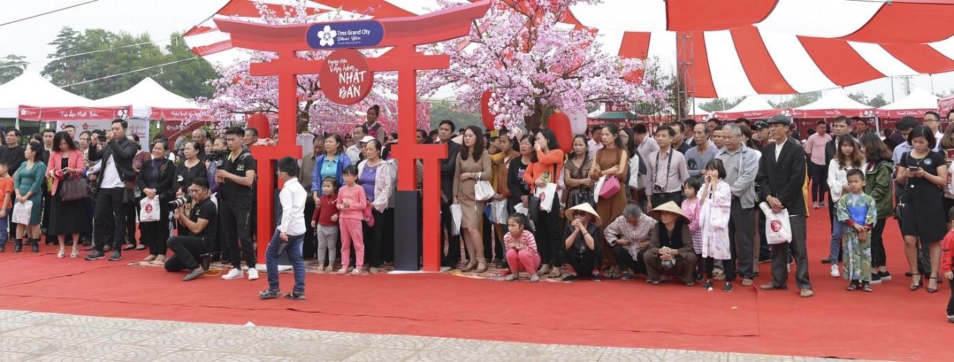 Ngày hội văn hóa Nhật Bản giữa lòng Phúc Yên hút du khách trong và ngoại tỉnh - Ảnh 2