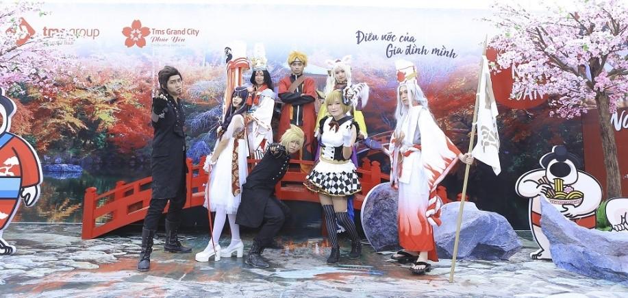 Ngày hội văn hóa Nhật Bản giữa lòng Phúc Yên hút du khách trong và ngoại tỉnh - Ảnh 6
