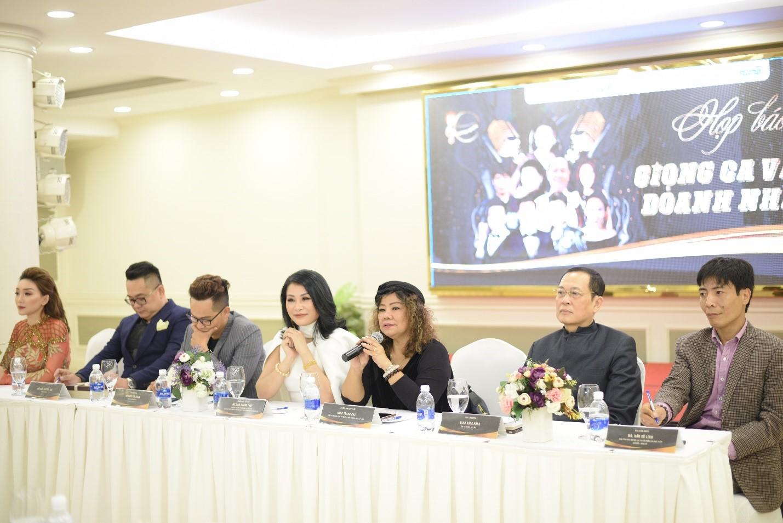 Họp báo công bố chương trình Giọng ca vàng doanh nhân 2018 - Ảnh 5