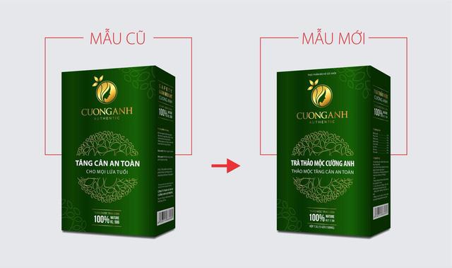 Bị làm giả sản phẩm, trà giảm cân Cường Anh thay đổi bao bì sang Trà Slim Cường Anh - Ảnh 2