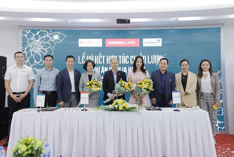 Lễ ký kết hợp tác chiến lược dự án Dahlia Homes giữa Gamuda Land Việt Nam – Cenland – VietinBank Tràng An - Ảnh 1