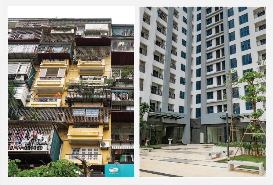 Đối lập tập thể cũ – chung cư mới: Xem ảnh vội tích cóp đổi nhà - Ảnh 4