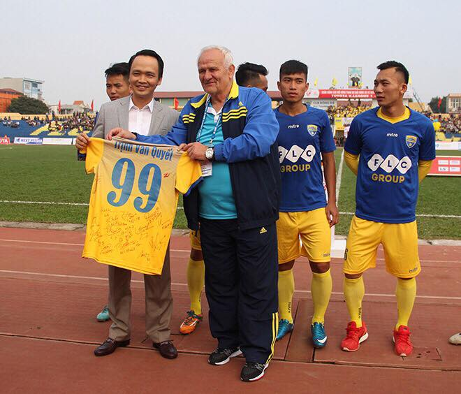 """Chủ tịch Tập đoàn FLC Trịnh Văn Quyết: """"Chúng tôi dừng tài trợ bóng đá Thanh Hóa""""  - Ảnh 3"""