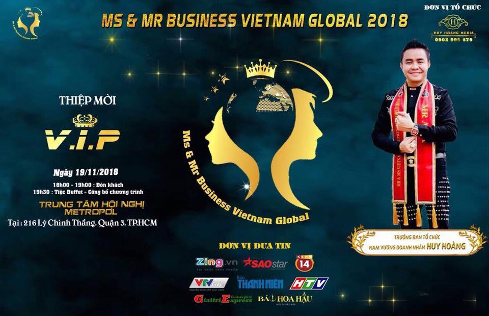 Doanh Nhân - Nam vương Huy Hoàng ông Trùm showbiz Việt về tổ chức sân chơi cho doanh nhân - Ảnh 3