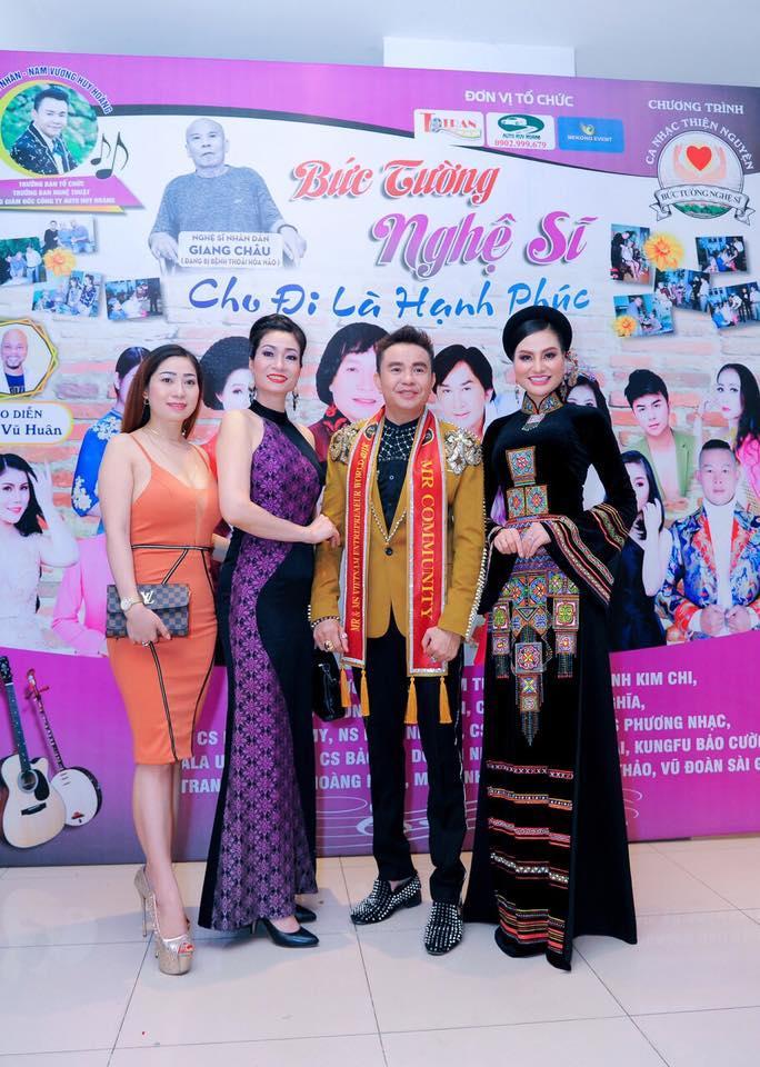 Doanh Nhân - Nam vương Huy Hoàng ông Trùm showbiz Việt về tổ chức sân chơi cho doanh nhân - Ảnh 4