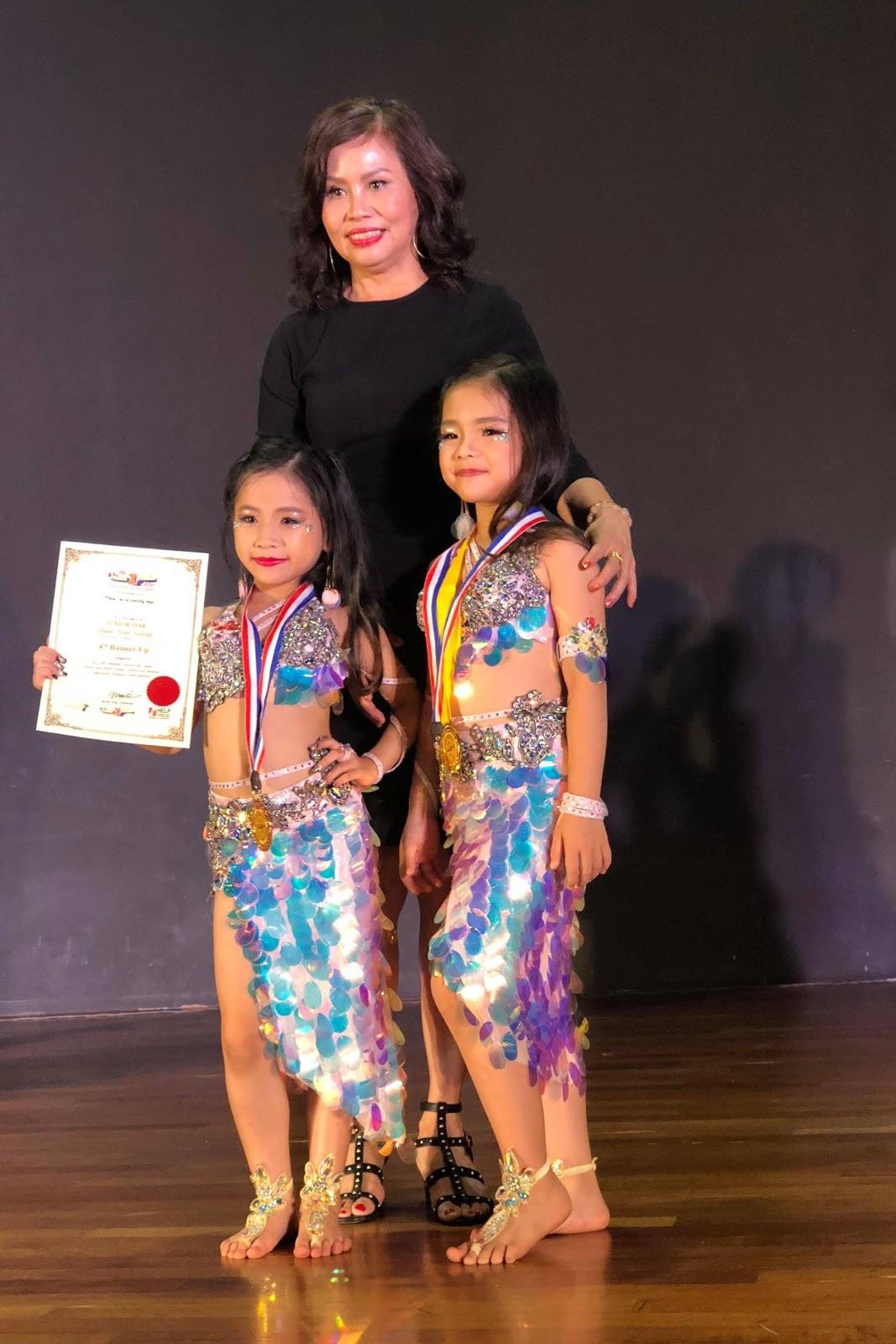 Tạ Phương Hà Linh - Cô bé gang thép quán quân của cuộc thi Intrernational Oriental Xpression Dance Festival, Malaysia  - Ảnh 9