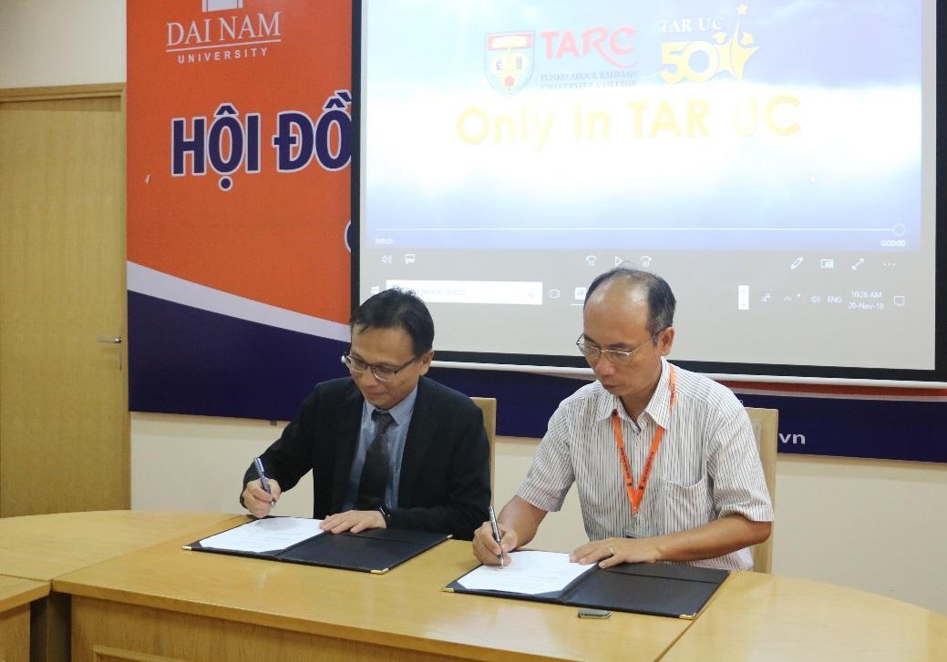Trường ĐH Đại Nam ký kết MOU cùng ĐH TARC  - Ảnh 3