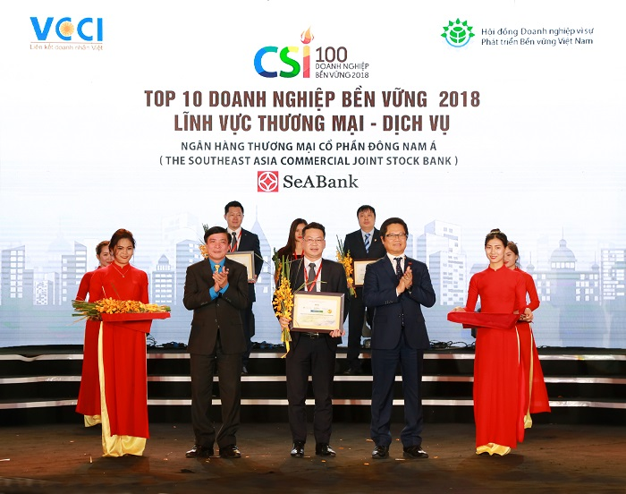 SeaBank nằm trong Top 10 doanh nghiệp bền vững Việt Nam - Ảnh 1