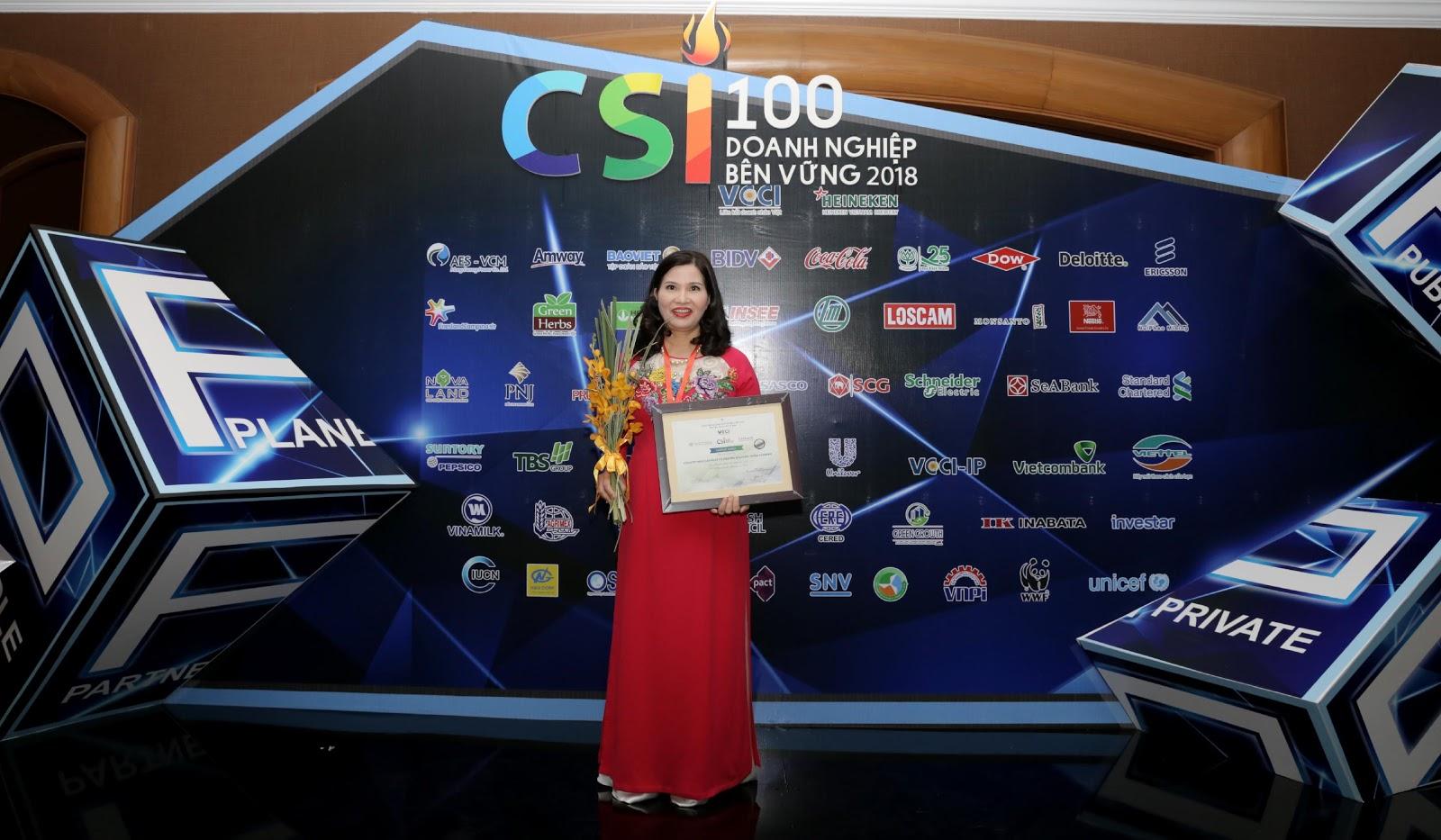 Dược phẩm Tâm Bình được vinh danh Top 100 Doanh nghiệp bền vững 2018 - Ảnh 2