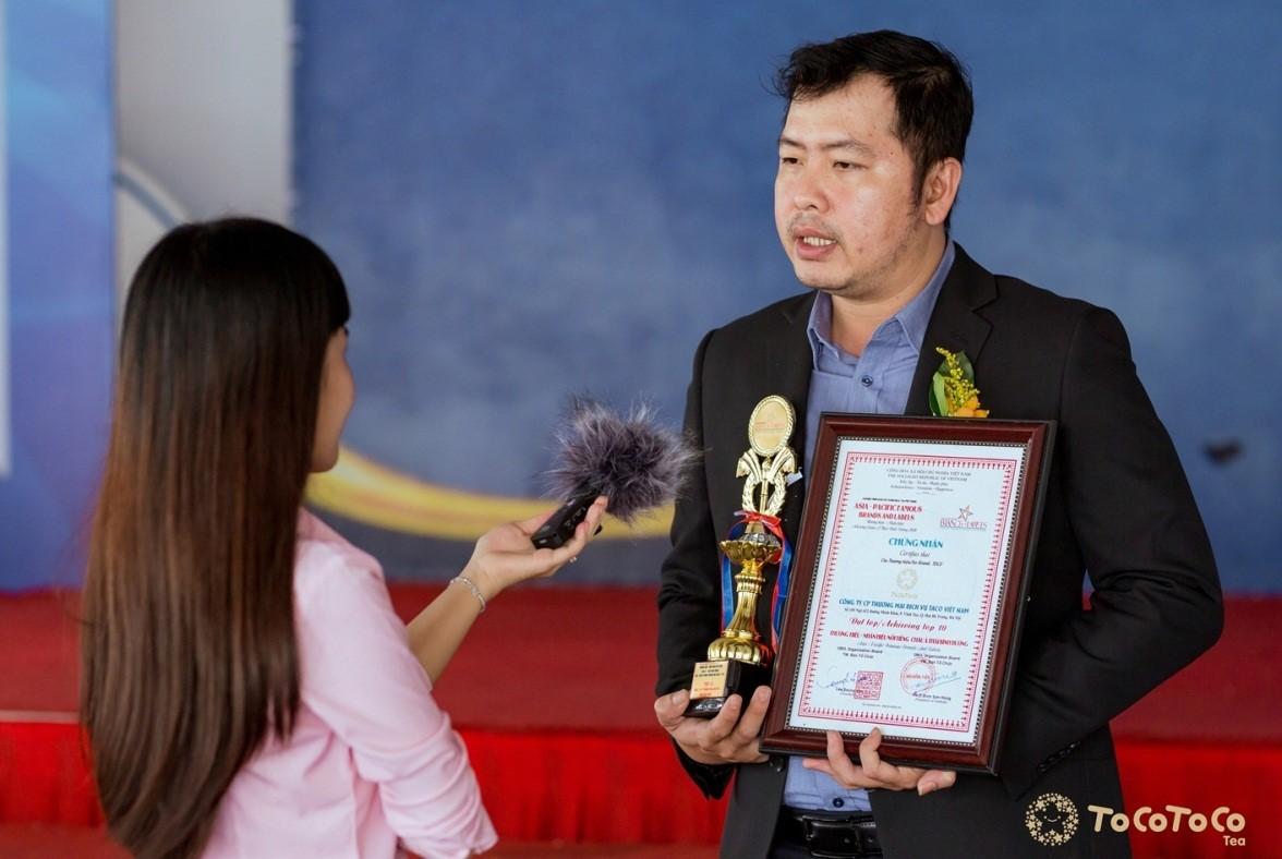 """Giải thưởng """"Thương hiệu–Nhãn hiệu nổi tiếng Châu Á Thái Bình Dương"""": Sự đền đáp xứng đáng cho những nỗ lực của thương hiệu trà sữa Việt TocoToco - Ảnh 5"""