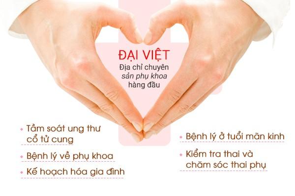 Phòng khám phụ khoa Đại Việt (TP.HCM): Địa chỉ khám phụ khoa uy tín - Ảnh 2