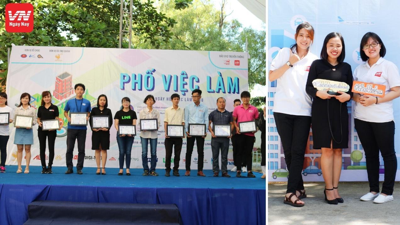 Náo nhiệt cùng VN Ngày Nay tại ngày hội việc làm trường ĐH KHXH&NV TP. HCM - Ảnh 3