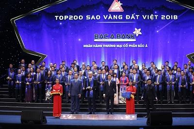 BAC A BANK giành Giải thưởng Sao Vàng đất Việt ngay lần đầu tiên tham gia - Ảnh 1