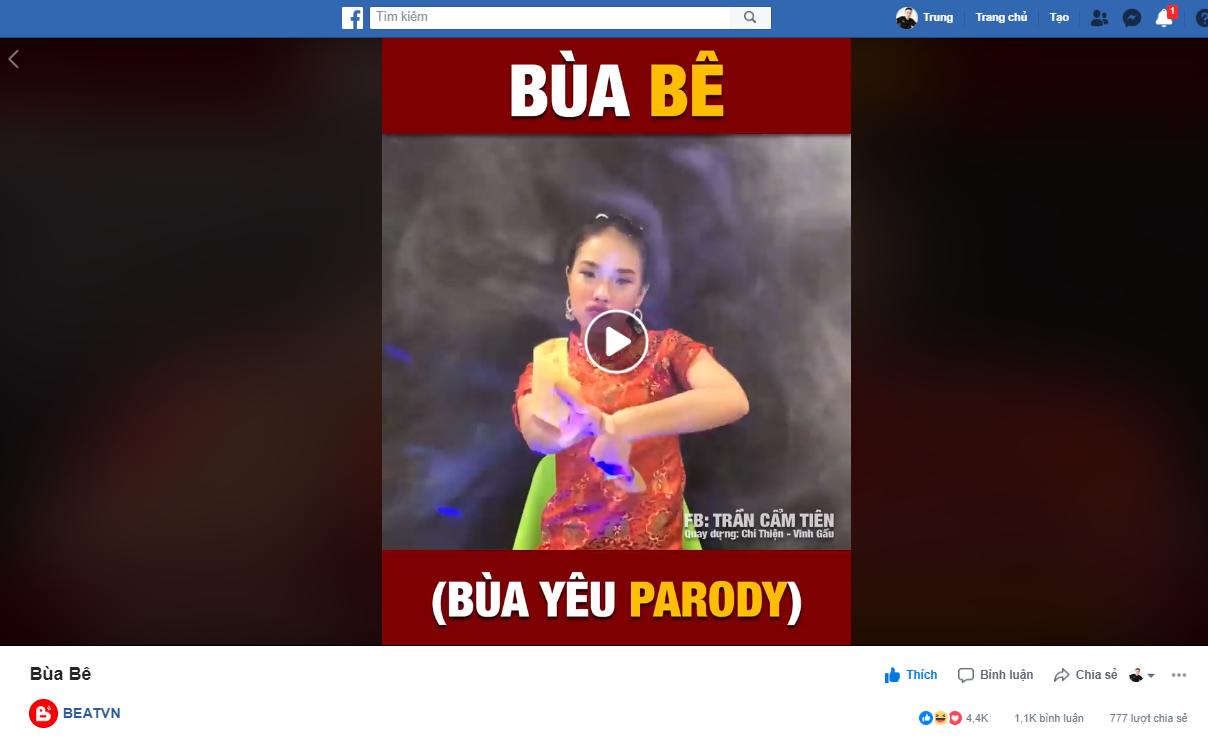 """Cẩm Tiên - Con gái """"Vua mạng xã hội"""" A Tuân lọt Top 10 nhân vật công chúng hot nhất Tiktok Việt Nam - Ảnh 2"""